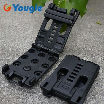 YOUGLE Belt Clip Clamp Match K Sheath Outdoor Camping Hiking EDC Kits Survival Tools