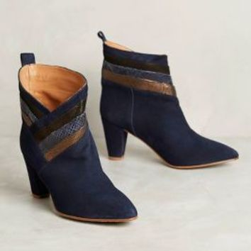 Emma Go Marcia Booties in Navy Size: