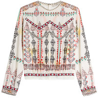 Etro - Printed Silk Blouse
