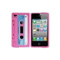 Generic MC0081 Cell Phone Case for iPhone 4 /4G - Non-Retail Packaging - Pink