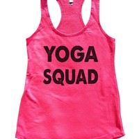 Yoga Squad Womens Workout Tank Top