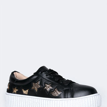 Low Wedge Creeper Sneaker