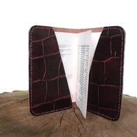 Leather passport cover,Leather Wallet, passport case leather, travel wallet, Ticket and Passport Holders, Travel Organizer,Personalized