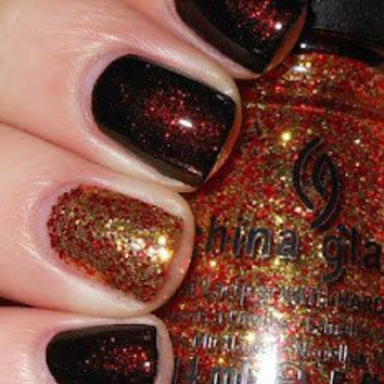 Hunger Games Nail Polish | The Girl on Fire