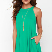 Tupelo Honey Green Dress