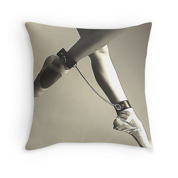 'BDSM love - dance for me #2' Throw Pillow by bdsmlove