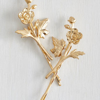 Vintage Inspired Fleur-ever and a Day Hair Pin Set by ModCloth
