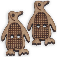 Wooden penguin supplies b265