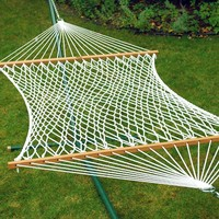 Algoma 13-ft. Double Rope Hammock - Outdoor (White)