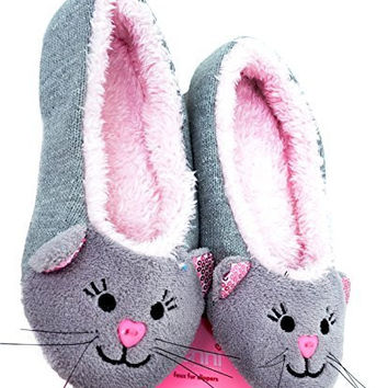 Jenni Critter Slippers - Kitten