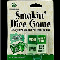 Stoneware Smokin Dice Game - Spencer's