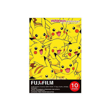 Fujifilm Instax Mini Film Pokemon Pikachu Kawaii Polaroid Instant Photo