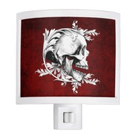 Skull Cameo 1 Night Light