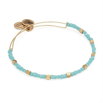 Sea Glass Odyssey Beaded Bangle