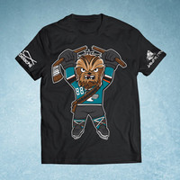 San Jose Sharks Chewbacca Shirt