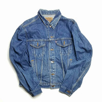 Mens Size 48L Levi's Denim Jacket