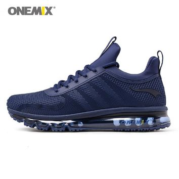 Onemix running shoes for men high top sports sneaker soft windproof All-match deodorant sneaker