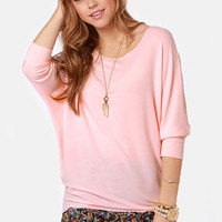 Novel-Tee Shop Peach Top