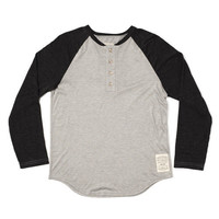 Henley Grey/Black | MUTTONHEAD