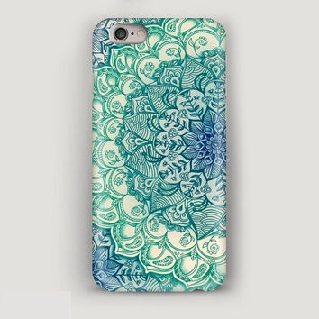 iPhone Case Mint Pattern, iPhone 6 Case, iPhone 6S Case, iPhone 6 Plus Case, iPhone 5s Case, iPhone 5 Case, iPhone 4 Case, Phone Case