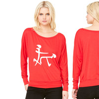Chinese Sex Symbol Funny women's long sleeve tee