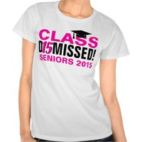 Class of 2015 Dismissed Pink Girls Graduation