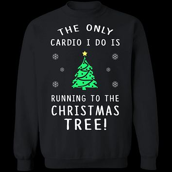 Christmas Tree Cardio T-Shirt