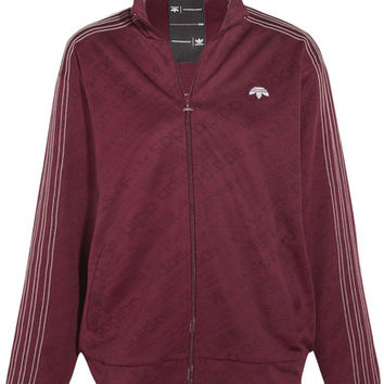 Adidas Originals By Alexander Wang - Embroidered stretch-jacquard jacket