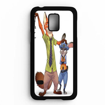 Zootopia Nick Wilde & Judy Hopps Samsung Galaxy S5 Mini Case