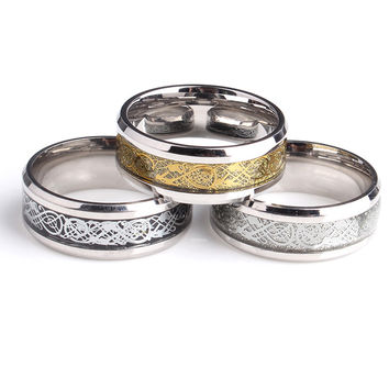 Nibelungen 316L Stainless Steel Rings