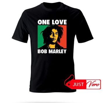 One Love Bob Marley T shirt size XS - 5XL unisex for men and women