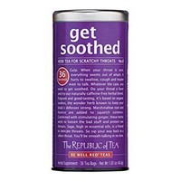The Republic of Tea, Get Soothed Tea, 36-Count