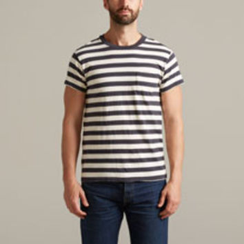 Levi's Vintage Clothing 1950s Sportswear T-Shirt - Black & White Stripe