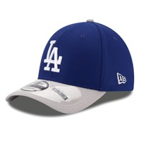 Los Angeles Dodgers 39Thirty Diamond Era Reverse 2-Tone Stretch Fit MLB Baseball Cap