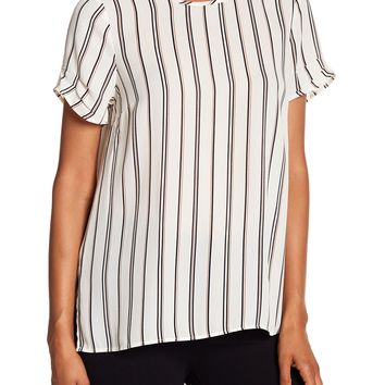 DR2 by Daniel Rainn | Short Pinched Sleeve Blouse | Nordstrom Rack