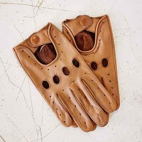Profound Aesthetic Leather Full Driving Glove-