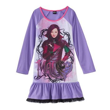 Disney's Descendants ''Mal'' Nightgown - Girls