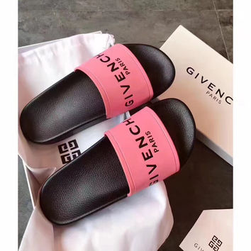GIVENCHY PARIS andals Comfortable Loose Slippers