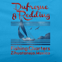 Shawshank Redemption Dufrane and Redding Fishing Charter T-Shirt