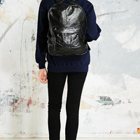 Vintage Renewal Leather Backpack in Black - Urban Outfitters