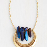 Boho Mystical Moon Necklace by ModCloth