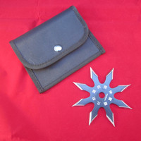 """4"""" 8 - Point Throwing Star- Black"""