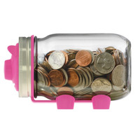Mason Jar Piggy Bank Lid