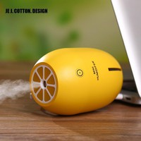 Air Purifier Freshener Car Humidifiers With Led Light