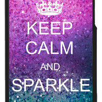 Keep Calm and Sparkle Iphone Case | fresh-tops.com