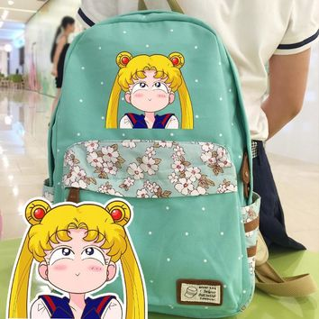Anime Sailor Moon Cosplay Sailor Moon Cos Anime Campus Student Cute Backpacker Birthday Gift