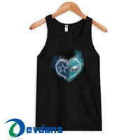 Philadelphia Eagles In Heartl Tank Top Men And Women Size S to 3XL
