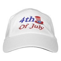 4th of July Uncle Sam 3D Performance Hat