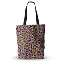 "Vasare Nar ""Leo Cheetah"" Animal Pattern Everything Tote Bag"