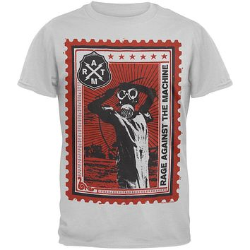 Rage Against The Machine - Postage Stamp Soft T-Shirt